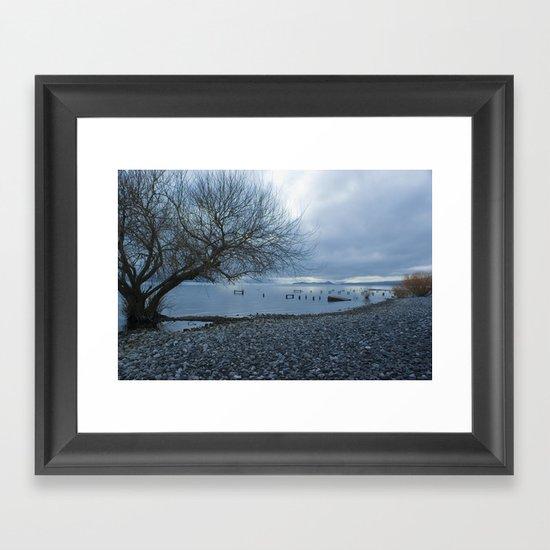 Tunkelen Framed Art Print
