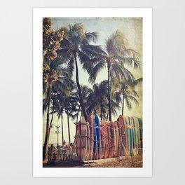 Classic Hawaii Art Print