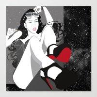 heels Canvas Prints featuring Red Heels by Stevyn Llewellyn