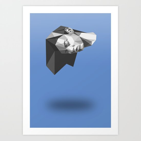 Keep your head up Art Print