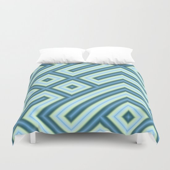 Square Truchets in MWY 01 Duvet Cover