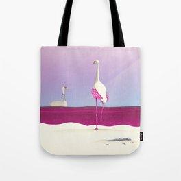 Flamingo Fatale Tote Bag