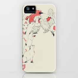 Non Wind-Up Robin iPhone Case