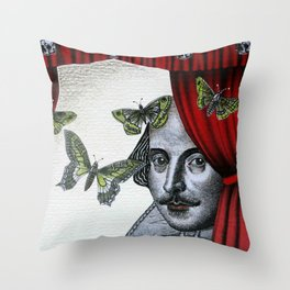To Sleep Perchance to Dream Throw Pillow