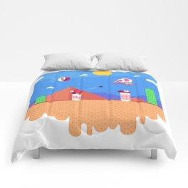 Tiny Worlds - Super Mario Bros. 2: Toad Comforters