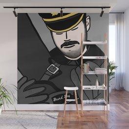 Beard Boy: Leather Boots Wall Mural