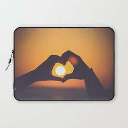sun heart Laptop Sleeve