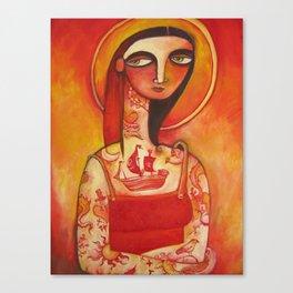 Lady Luck Canvas Print