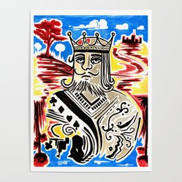 King Of Cards Poster