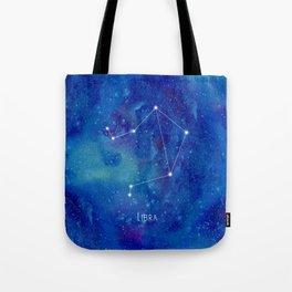 Constellation Libra Tote Bag