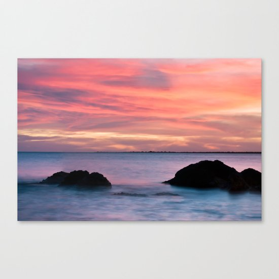 Natural Watercolors Canvas Print
