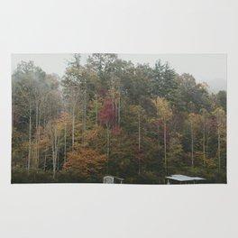 Mountain Trees Rug