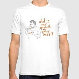 Charlie Kelly - Spaghetti Policy T-shirt