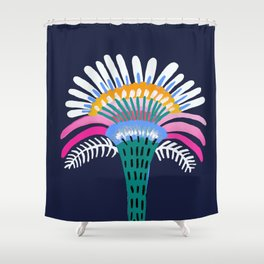 Zelestial Flower Shower Curtain