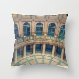 The Capital Building in Austin, Texas Throw Pillow