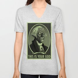 THIS IS YOUR GOD Unisex V-Neck