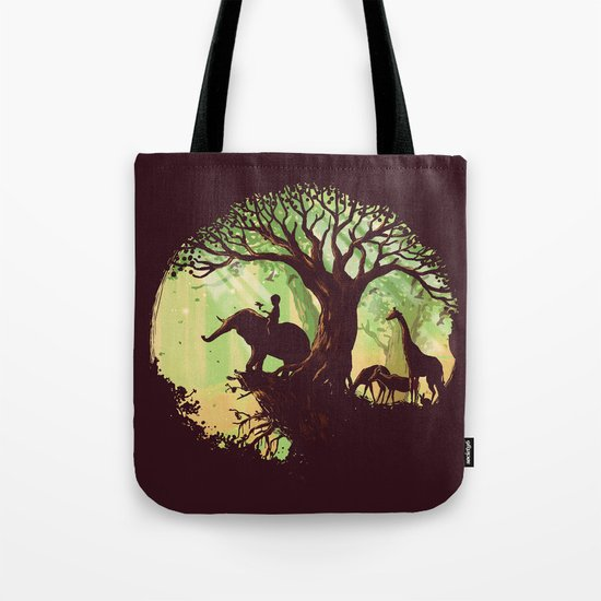 The jungle says hello Tote Bag