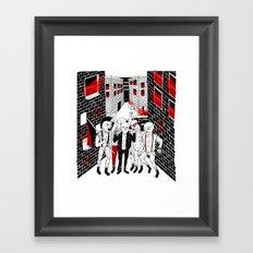 THE STREETS Framed Art Print