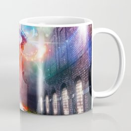 One Eye That Sees Beyond a World Divided Coffee Mug