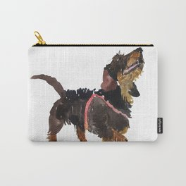 watercolor dog vol 9 dachshund Carry-All Pouch