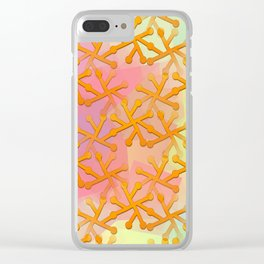 Goldflakes ... Clear iPhone Case