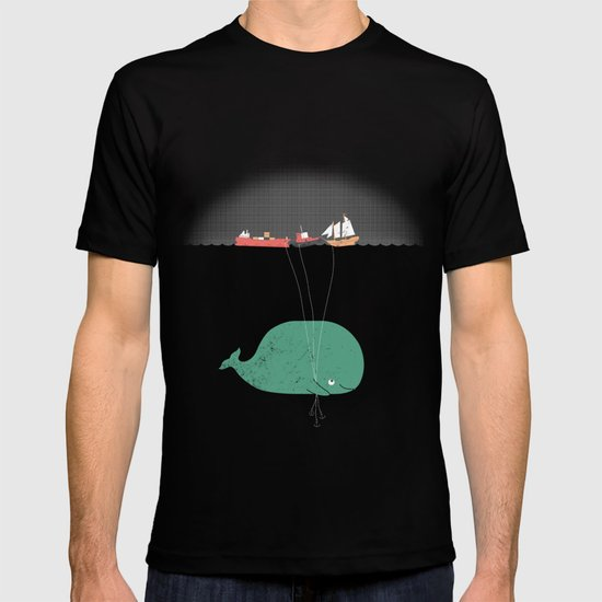 Whale Balloons  T-shirt