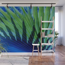 Palm Shadows Wall Mural