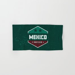 Mexico Futbol Soccer Hand & Bath Towel