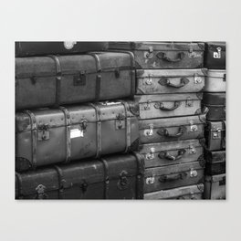 Travelling. Canvas Print