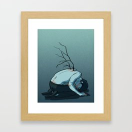 I Was a Star Framed Art Print