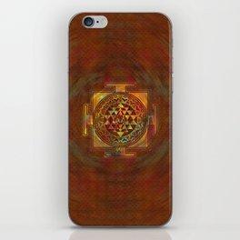 Colorful Sri Yantra  / Sri Chakra iPhone Skin