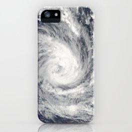 1300. Tropical Cyclone Glenda in the Indian Ocean iPhone Case