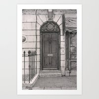 221b Art Prints featuring 221b by v0ff