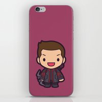 archer iPhone & iPod Skins featuring Archer by Papyroo