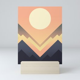 The Sun Rises Mini Art Print