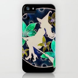 fly to th moon iPhone Case