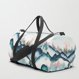 Winter Forest Duffle Bag
