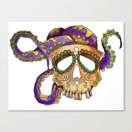cheerful skull Canvas Print