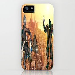 Defense of Planet Earth iPhone Case