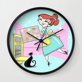 The Joy Of Cookies Wall Clock