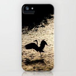 Japan Heron iPhone Case