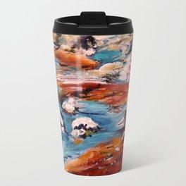 Forrest Moses Interpretation New Mexico acrylics on canvas board Travel Mug
