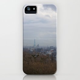 View of London from Hampstead Heath iPhone Case