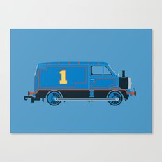 Tommy the Van Engine Canvas Print