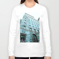 montreal Long Sleeve T-shirts featuring Montreal 8278 by Korok Studios