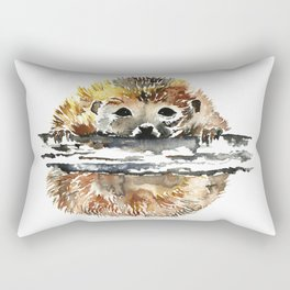 Hedgehog - HANG IN THERE! Rectangular Pillow