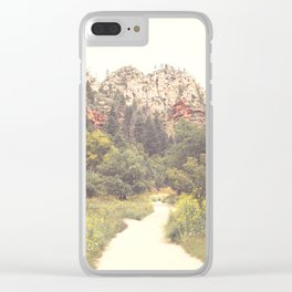 Colors of Sedona Clear iPhone Case