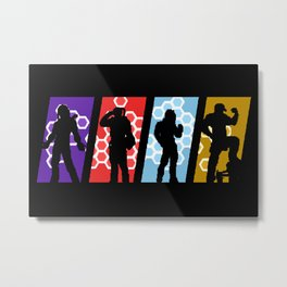 Neo Fenrir Select Character Metal Print