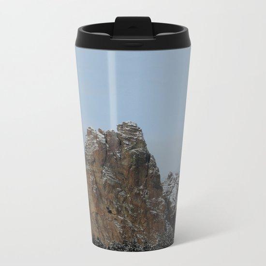 Smith Rock Snowbound Metal Travel Mug