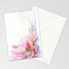 garden summer flowers  Stationery Cards
